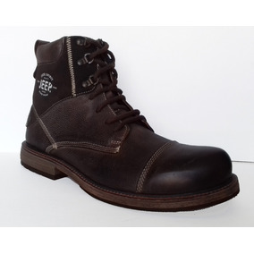 Botas Jeep Jazz Chocolate/talqueado Cafe