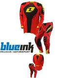 Equipo Moto Cross One Defcon Rojo - Blueink Pinamar