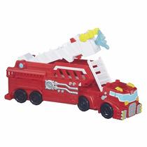 Boneco Transformers Robô Caminhão Bombeiro Playskool Hasbro
