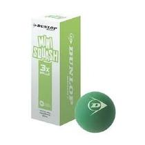 Pelota De Squash Dunlop Mini Caja Con 3 Pzas