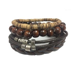 Brazalete Pulsera Hombre Fight For Your Right Cuentas Metal
