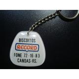 Chaveiro Antigo Biscoitos Record Canoas Rs Anos 70 Colecione 8ab64d5c7c