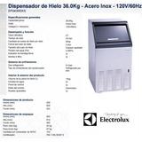 Fabricador De Hielo 36kg Electrolux Acero Inox Nuevo