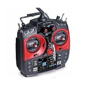 Radio Graupner Mz-24 Pro Red 12 Canais 2.4g.hz Pronta Entreg