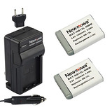 Newmowa Nb-13l Battery (2 Pack) And Charger For Canon Nb-13l
