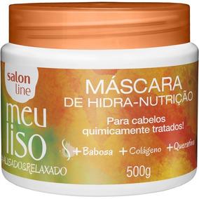 Mascara Meu Liso #alisado E Relaxado 500g - Salon Line