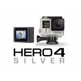 Video Camara Gopro Hero 4 Silver Nuevas Garantia
