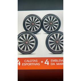 Jogo De Calotas Aro 13 Fiat