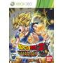 Dragon Ball Z: Ultimate Tenkaichi Mídia Física Novo Xbox 360
