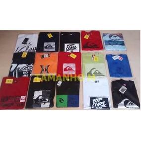 Kit 10 Camiseta Mcd Oakleyripcurl Hurley Quiksilver Original