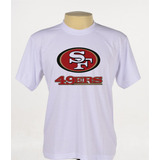 Camisa Camiseta Personalizada San Francisco 49 Ers Nfl Banca