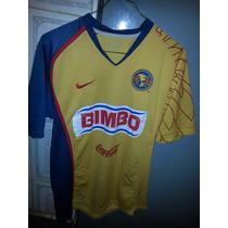 Jersey Playera Aguilas Del America Año 2007 Talla Chica