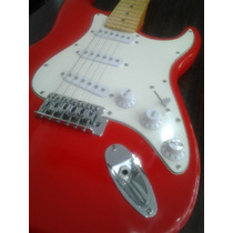 Guitarra Eléctrica Roja D