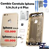 Caratula Bordes Case Housing Iphone 5,5c,5s Original