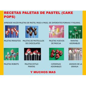 Recetas Como Hacer Paletas De Pastel (cake Pops)