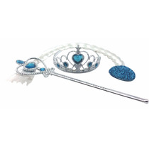 Kit Acessórios Frozen Elsa - Pronta Entrega