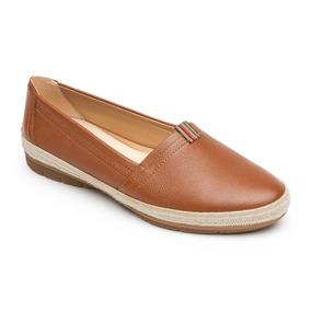 Zapato Confort Flexi Dama 44802 Cafe Flat Mujer Comodo