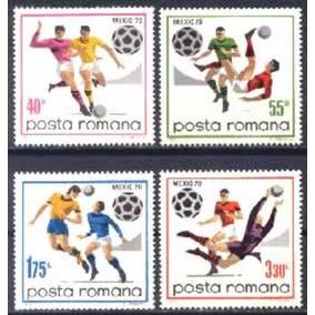 Es044 Romenia - Campeonato Mundial De Futebol Mexico 70