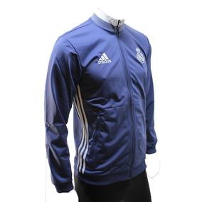 Conjunto adidas Real Madrid Microfibra Azul Hombre