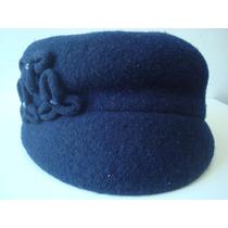 Gorro Gorra Boina Nine West 2525 Azul Decorado Envío Gratis