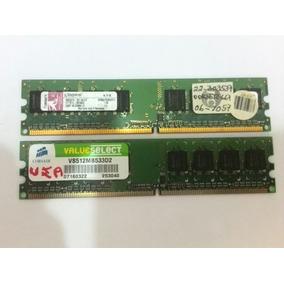 Memoria Ram Ddr2 512 Mb Para Pc 533