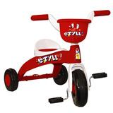 Triciclo Basculante Still Branco E Vermelho