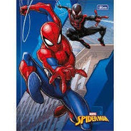 Caderno Brochura Capa Dura Spider Man 48 Folhas -  Tilibra