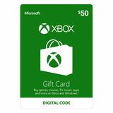 Xbox Live $50 Usa Xbox One Y Xbox 360 Entrega Rápida- Scheda
