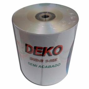 200pç Dvd Semi Acabado Deko + 1100pç Saquinhos C/aba Adesiva
