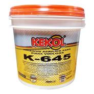 Adhesivo Acrílico Para Pisos Vinílicos 4 Kg Kekol