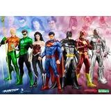 Kotobukya Artfx Liga De Justicia 7 Piezas 100% Nuevas!!!!!!!