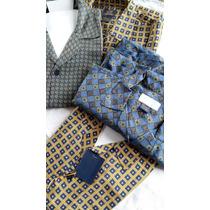 Kit Com 2 Camisas De Seda Aleatory, Excelente Preço,barato!