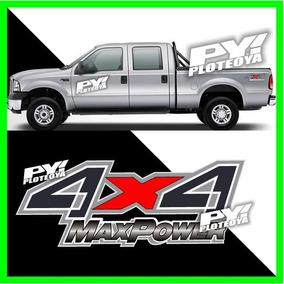Calco 4x4 Max Power Ford F100 150 Calcomania Ploteoya