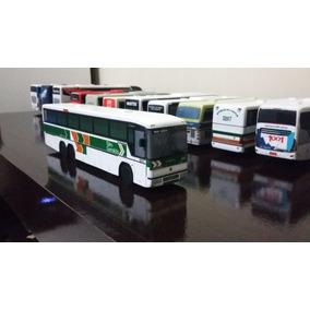 Miniatura De Ônibus Marcopolo G4 Artesanal Da Sao Geraldo