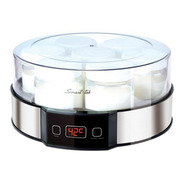 Yogurtera Smart Tek Digital 7 + Recetario Yogur 6 Cuotas Ya!