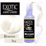 Tinta De Cabelo Branco Ice - Exotic Colors Criativ