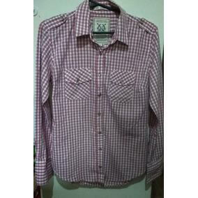 Camisa De Dama Kevingston. 70 Cm De Largo X 49 Cm De Sisa.