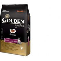 Ração Golden Gatos Adultos Castrados Frango 10kg