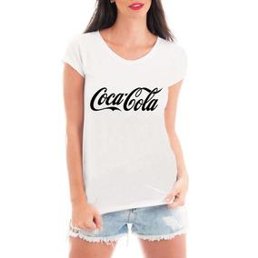 Camiseta Coca Cola Roupas Blusa Feminina T Shirt