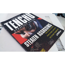 Guía Impresa Oficial Tenchu 1 Playstation Brady Games