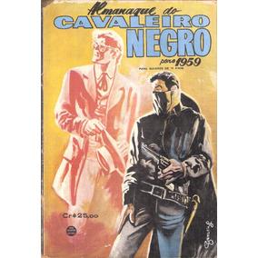 Almanaque Do Cavaleiro Negro - 1959 - Rge - Frete Grátis