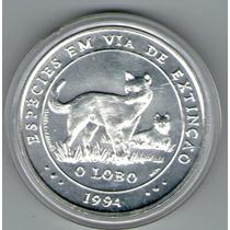 Portugal Moneda Encuentro Dos Mundo Año 1994 Lobo