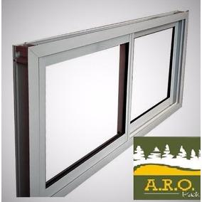 Ventanas aluminio blanco aberturas ventanas de aluminio for Ventana aluminio 120x120