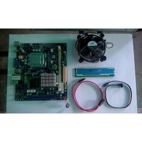 Placa Madre Foxconn G4sk Con Procesador Y Memoria Ram 1gb
