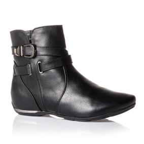 70a30a843 Botas Femininas Cano Curto Comfortflex - Sapatos no Mercado Livre Brasil
