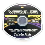 Nylon De Pesca Triple Fish Vexus 0,25mm X 100mts