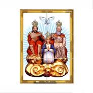 Quadro Azulejos Divino Pai Eterno