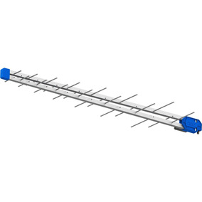 Antena Digital Log 38 Elemen Proeletronic + Booster 40db