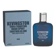 Perfume Kevingston 1989 Blue Hombre X100ml  Regalo Local
