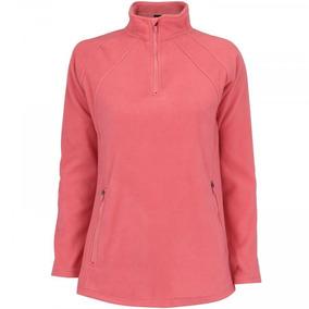 Blusa De Frio Fleece Nord Outdoor Basic - Feminina - Coral